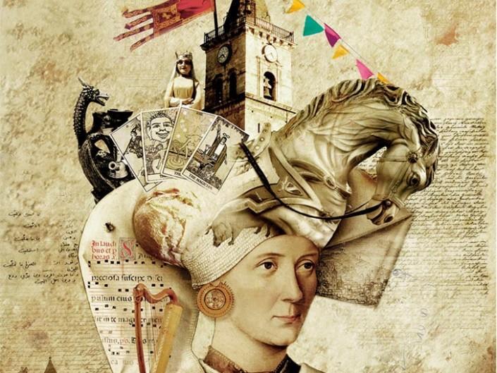 Menu medieval fiestas del medievo Villena 2016