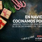 Restaurante Riesma Villena: esta navidad cocinamos por tí